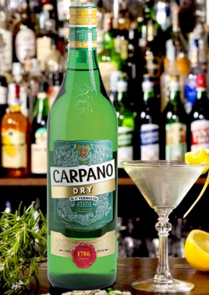 Brands, Aperitivo, CARPANO DRY | GLOBAL PREMIUM BRANDS